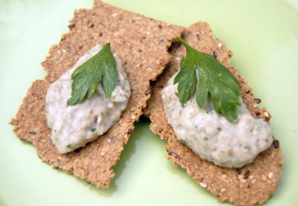 Roasted eggplant spread. Photo by Mary Reed.