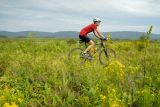 Riding near Camp 70 Road, Canaan Valley National Wildlife Refuge.